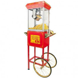 Funtime 4 oz Red Popcorn Cart
