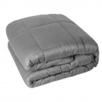 Snuggle Me Weighted Blanket 15 lb Stress Less, Sleep Well &