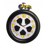 Big Wheel Alarm Clock With Glow In The Dark Hands
