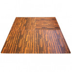 Dark Wood Anti-Fatigue Flooring (4pk)
