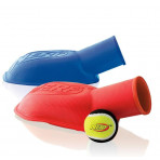 Nerf Stomper Ball Launcher Dog Toy Assorted Colors Blue or Red