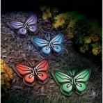 Butterfly Lights - Solar Pathway Light