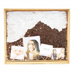 "Everyday Woods Natural Grey Photo Frame 15.50"" x 13.25"""