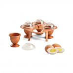 Copper Chef Copper Eggs XL With Non Stick Coating 4 XL Copper Egg Makers / Egg Caddy - As Seen On TV