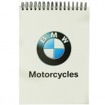 BMW Spiral Notepad