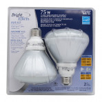 Bright Effects CFL 18 Watt BR40 2 Pack