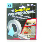 """Corner Tape - Caulking Tape Guide To Get Perfect Beads and Joints (50'Roll-XS) 1/10"""" Bead"""