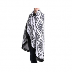 Black & White Beach Blanket
