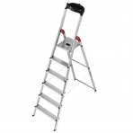 L60 6 Step Ladder Silver